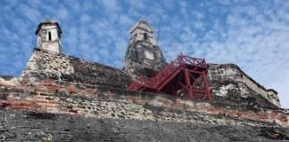 The Fort of San Felipe in Cartagena.