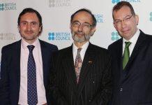 Chris Rawlings, Ambassador Peter Tibber, Tom Miscioscia,