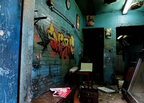 Sex trafficking and child prostitution were common in El Bronx's many bars.