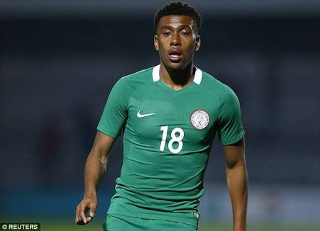 Alex Iwobi's Goal Takes Nigeria To Russia 2018