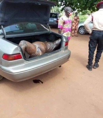 Missing Body Of Popular Ogun Hotelier Found Dead In His Car Boot {Photos}