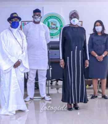 COVID 19: CELESTIAL CHURCH OF CHRIST WORLDWIDE DONATES TO N.C.D.C, LAGOS AND OGUN STATE GOVERNMENTS