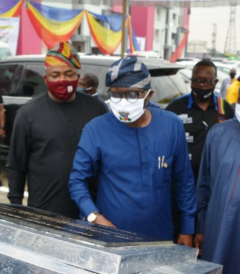 24-hours Before First Year Anniversary, Sanwo-olu Commissions 264 Units Of Flats In Lekki {Photos}