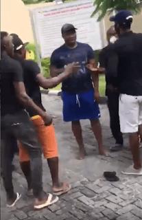 Security men beats Tijani Oniru to stupor {Video}