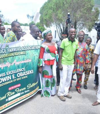 Food Security: Edo Farmers Attest To Obaseki's Supportive Nature