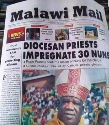Exposed: Catholic Clergyman Impregnates 30 Reverend Sisters {Photo} ~ Thecitypulsenews
