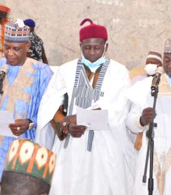 Gombe Governor Swears-in 3 new Commissioners