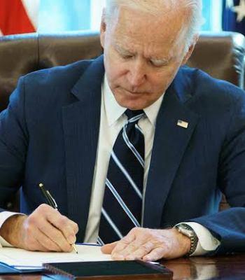 US President Joe Biden Signs Executive Order To Favour Nigerians