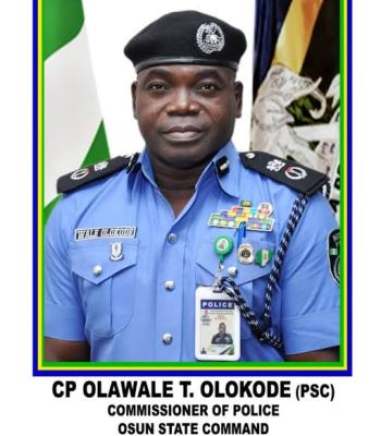 CP Olokode Warns Criminals, Says Turn A New Leaf Or Relocate, We Are Taking Security Battle To Your Den