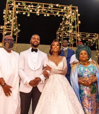 Parade of Stars As Top Nigerian Politicians Storm OGD Daughter's Wedding