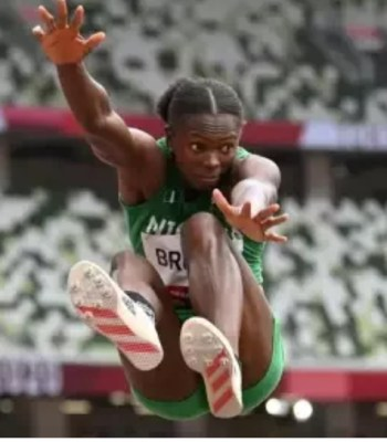 Ese Brume - Nigeria Wins First Medal At Tokyo Olympics
