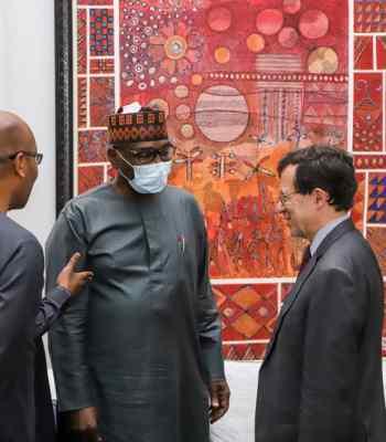 Sujimoto Boss Honours Abdulsamad Rabiu, Chairman BUA Group To Celebrates Outgoing French Ambassador