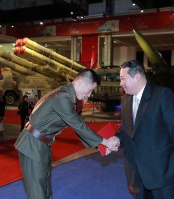 North Korea: Kim Jong-un vows to build 'invincible military'
