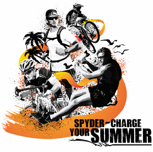 SPYDER CHARGE YOUR SUMMER