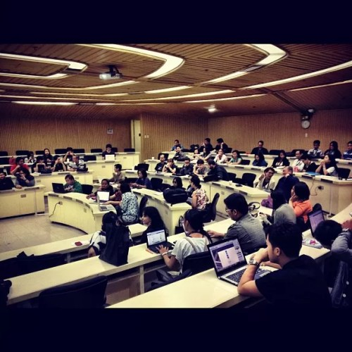 Asian Institute of Management Classroom