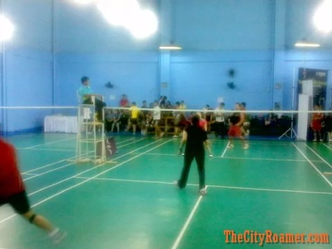 Badminton Games at RSL Badminton Diamond X7 Product Launch
