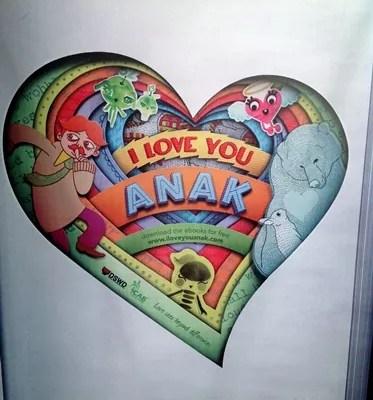 I Love You Anak eBooks