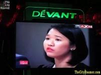 Andrea on TV - The Apprentice Asia Live Viewing Party