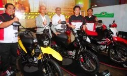 Honda Philippines Executives at the XRM 125 Launch