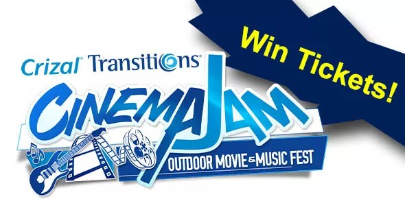 Win Tickets Crizal Transitions CinemaJam