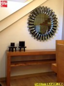 MIrror and Table accent at the dining area of Presidential Suite at Azalea Residences Baguio