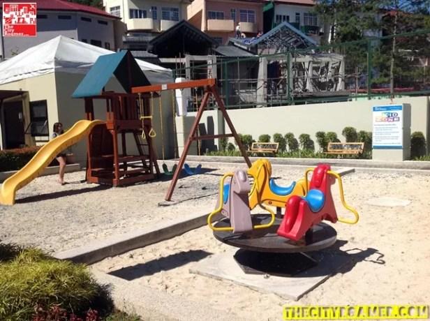 Kids can play at Azalea Residences Baguio