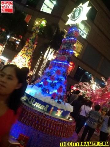 Pamantasan ng Lungsod ng Maynila's Supreme Student Council's entry for C2 Sarap ng Christmas Tree-Making Contest