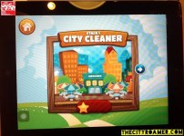 Dolphy Clean Up game Stage 1 - City Cleaner