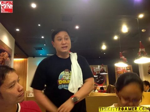 Eric Quizon at the Dolphy Clean Up game launch