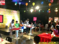 Games at Jollibee Christmas Party