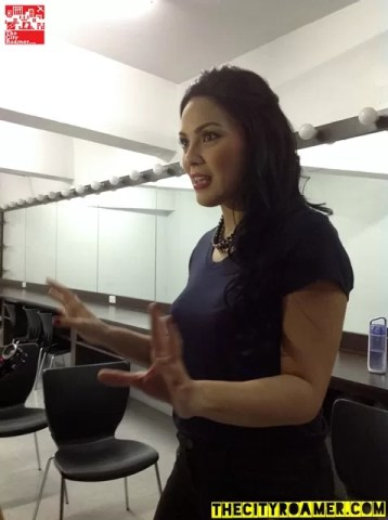 KC Concepcion Talks about her role during the Boy Golden Mall Tour at Glorietta