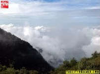 Fog rising at Mount Cabuyao