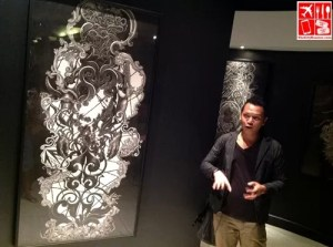 Michael Adrao talks about his art - Complicated by Lopez Museum
