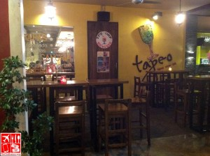 Al Fresco dining at Tapeo The Fort Strip