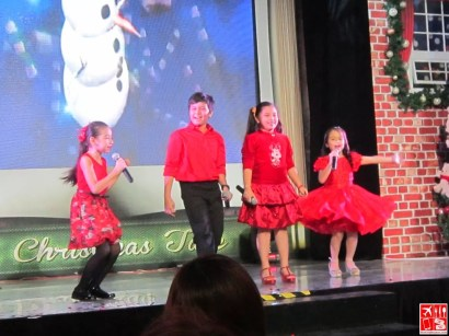 SM Little Stars Winners at the SM City Fairview Christmas Launch