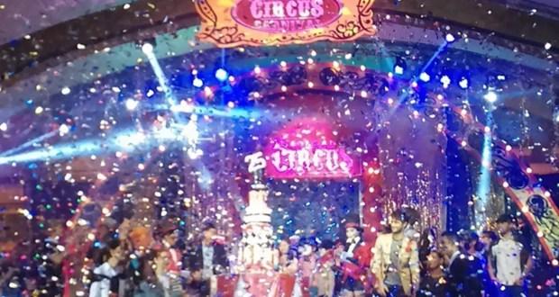 Giordano Circus Party Fashion Show Finale