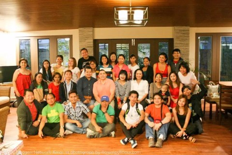 Group Shot - Filipino Bloggers Network Christmas Party 2014