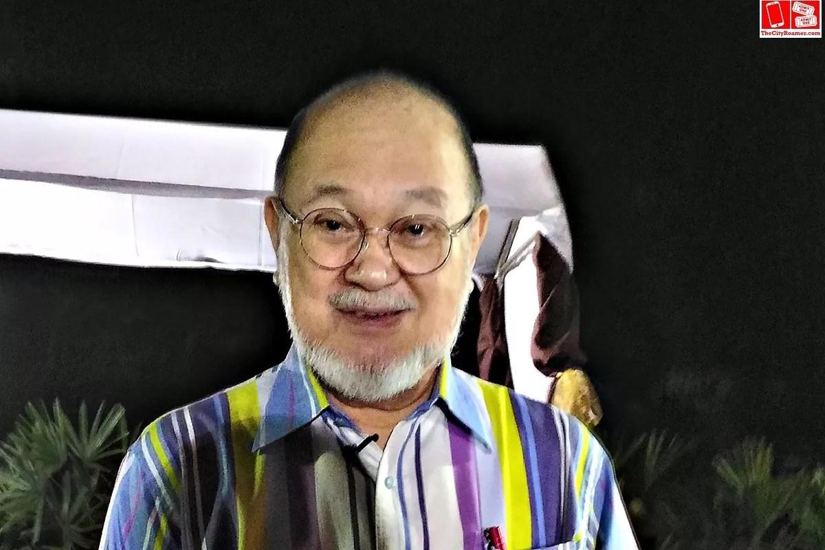 Augusto Tito Boboy Syjuco Jr upclose