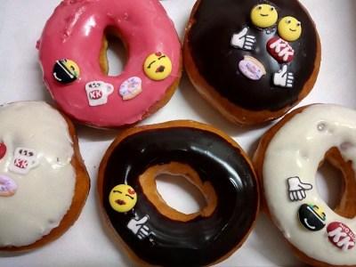 Krispy Kreme Emoji Doughnuts
