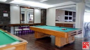 Play Billiards at Estancia Resort Hotel Tagaytay