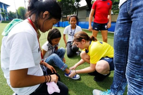 British School Manila 6GP students led a sport activity