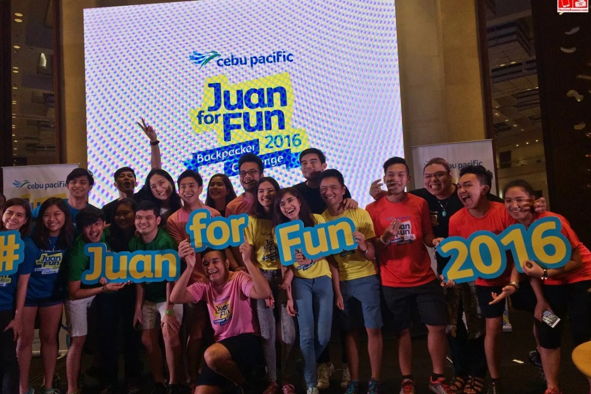 Juan for Fun Backpackers Challenge is on
