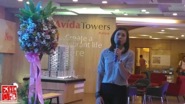 Avida Land Marketing Head Tess Tatco