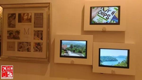 Digital Picture Frames at Avida Land Showroom in BGC