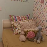 A girl's room at the Avidal Towers Turf BGC showroom