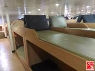 Bunk beds of 2Go Travel's M/V Saint Ignatius of Loyola Tourist Class