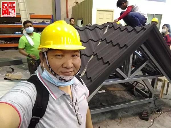 Visiting Metalink Plant in Bulacan