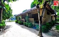 A Hut, one of the accommodations at Casa Pilar Beach Resort Boracay