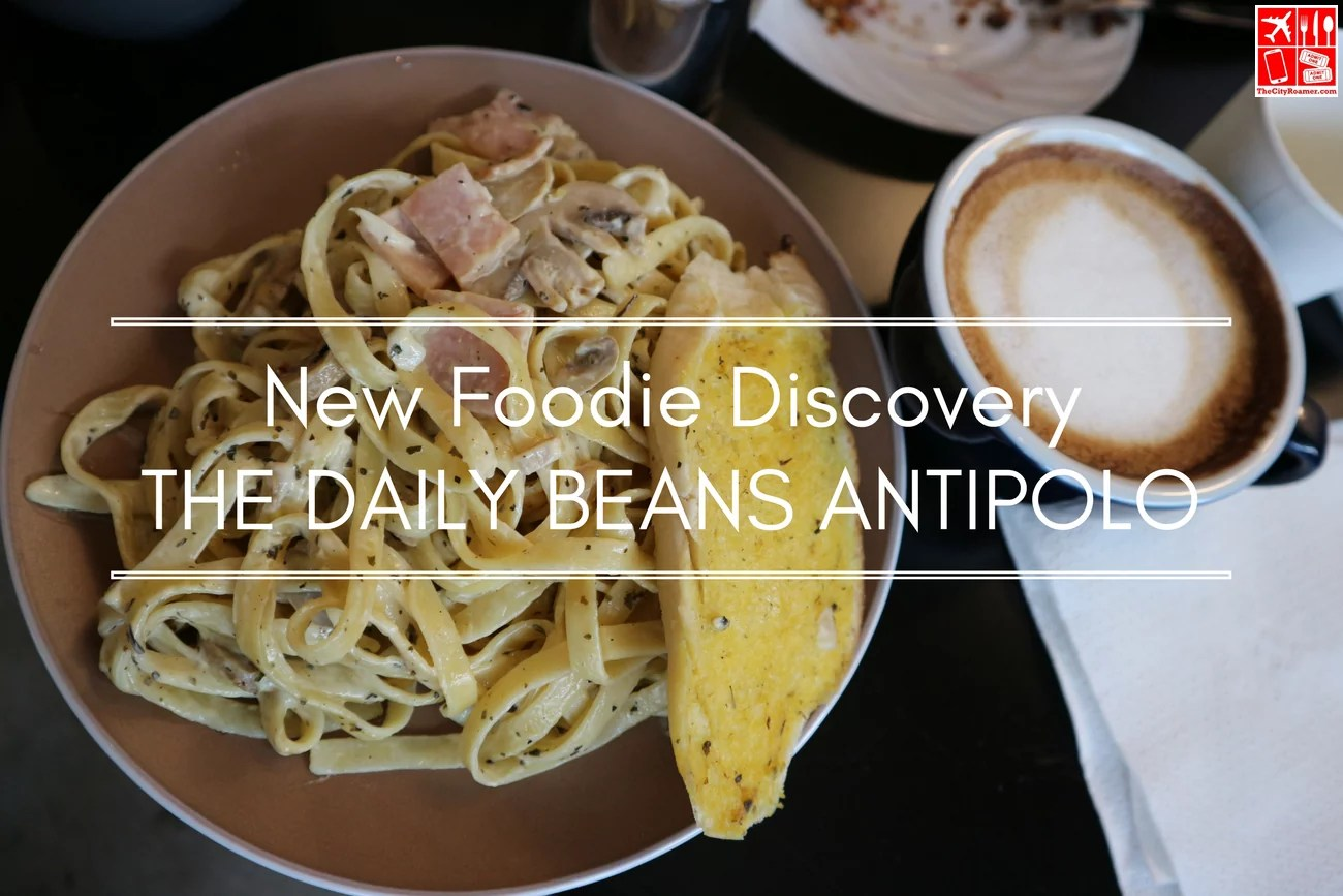 The Daily Beans is my new foodie discovery