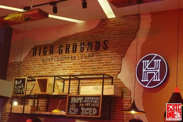 Gamers can enjoy good food at High Grounds Cafe